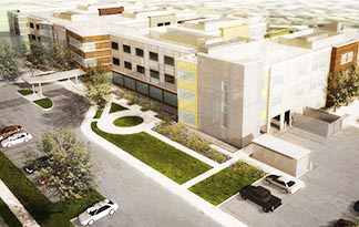 The proposed Providence Care Centre will include 160 beds offering home-like care.