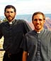 Fr. Ignacio Llorente and Fr. Lucas Laborde
