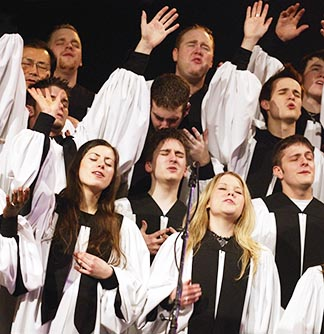 Oh sing to the Lord a new song, for he has done marvellous things. - Psalm 98.1