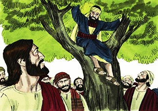 The Son of Man came to seek out and save the lost. - Luke 19.10