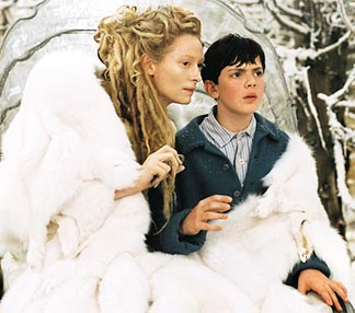 The White Witch tempts Edmund in the movie The Chronicles of Narnia: The Lion, the Witch and the Wardrobe, based on the novel by famed Christian apologist C.S. Lewis who died 50 years ago.