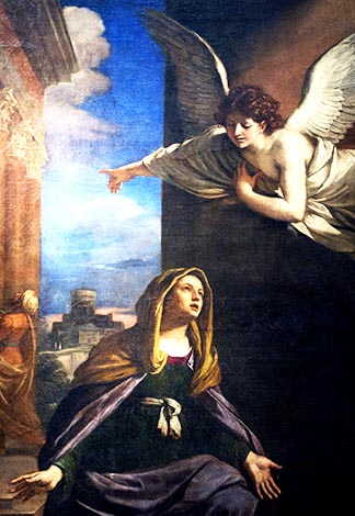 She was found to be with child from the Holy Spirit. - Matthew 1.18