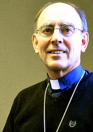 Archbishop Sylvain Lavoie has a new lease on life in his new role as retreat house chaplain.
