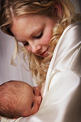 Pope Francis has assured mothers that it is OK if they breastfeed their babies in public.