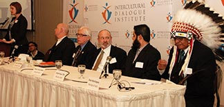 Representatives of Calgary faiths spoke in a panel session on Green Faith Jan. 22.