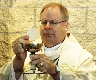 Fr. André Vincelette always had a sympathetic ear for those in need.