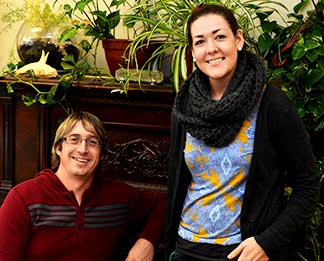 Kris Knutson and Paula Cornell are full time staff at the south side Neighbour Centre.