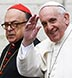 Pope Francis and Cardinal Raymundo Damasceno Assis