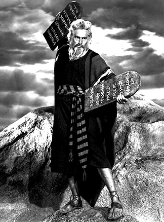 Charlton Heston starred in the 1956 classic, The Ten Commandments. This year, biblically inspired movies are making a comeback.