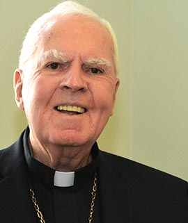 Archbishop Emeritus Joseph MacNeil will celebrate his 90th birthday on April 15.
