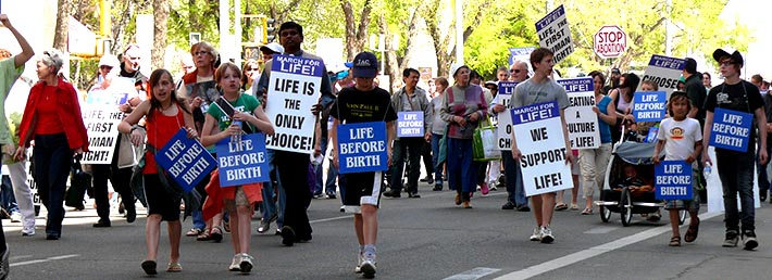 The Alberta bishops are again urging Catholics to take part in the annual March for Life, May 8 in Edmonton.
