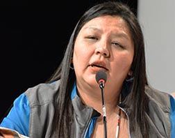 Kim Quinney suffered because of a family member who attended a residential school.