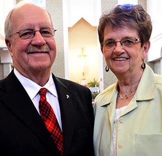 Hyland and Harriet Fraser serve in Holy Trinity Parish in Stony Plain/Spruce Grove.