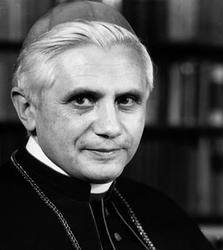Joseph Ratzinger is shown in this 1977 photo on the day of his ordination as archbishop of Munich. Ratzinger was decidedly cool to the original proposed document on revelation.