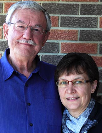 Roger and Joyce Reilander have been active in St. Mary's Parish in Red Deer for 11 years.