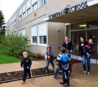 St. Brendan parents were surprised to learn the school will close forever this month.