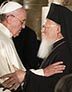 Pope Francis and Ecumenical Patriarch Bartholomew of Constantinople