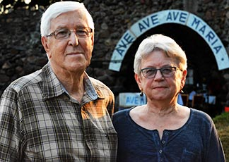 Tony and Anne Huculak of Edmonton's Assumption Parish are long-time pilgrims with deep roots in the Skaro area.