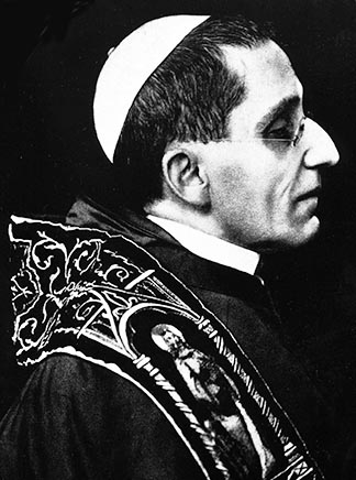 Pope Benedict XV, who served as pope from 1914-1922, was elected pope less than six weeks after the outbreak of the First World War – and immediately started campaigning against it.