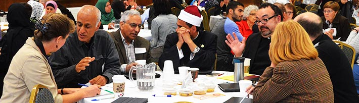 About 250 Muslims and Christians had serious dialogue at a day-long event Sept. 13 at the Edmonton Islamic Academy.