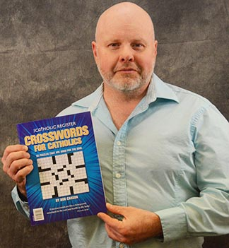 Bob Carson, whose Catholic crosswords have been published in the WCR since 1999, has just published his first book of original puzzles.
