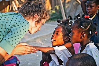 Whitehorse native Morgan Wienberg reunites abandoned Haiti orphans with their families.